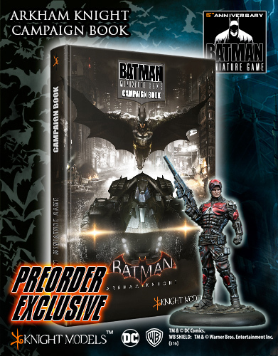 BMG005 Arkham Knight Campaing Book