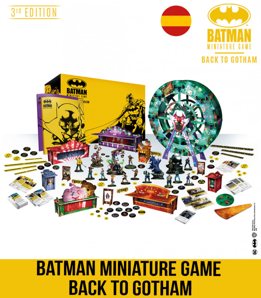 BATMAN MINIATURE GAME BACK TO GOTHAM
