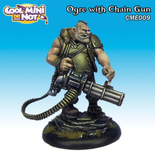 CME009 Ogre with Chain Gun