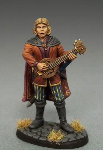 DSM4116 Male Bard with Lute